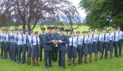 Macrobert Trophy Presentation to 107 (Aberdeen) Squadron in 2007