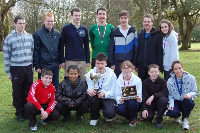107 (Aberdeen) Squadron 2010 Cross Country team