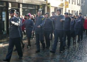 Aberdeen Remembrance Day parade