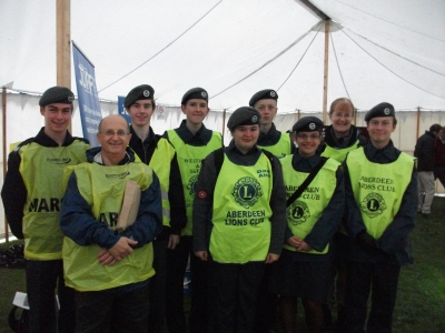 107 Sqn volunteers