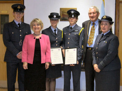 Lord Lieutenant's Cadets presentation