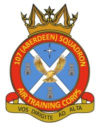 107 Aberdeen Squadron Air Cadets crest